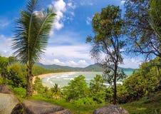 Kamala beach from above Royalty Free Stock Photo