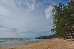 Kamala beach. Andaman sea tropical  Kamala beach in Phuket island, Thailand Royalty Free Stock Photo