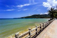Kamala Beach, Phuket, Thailand. Kamala Beach at morning. Phuket, Thailand Royalty Free Stock Photos