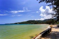 Kamala Beach, Phuket, Thailand. Kamala Beach at morning. Phuket, Thailand Royalty Free Stock Photography