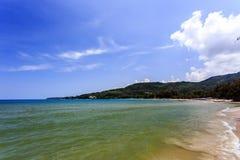 Kamala Beach, Phuket, Thailand. Kamala Beach at morning. Phuket, Thailand Stock Image