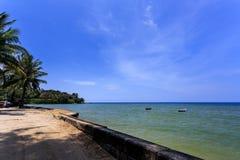 Kamala Beach, Phuket, Thailand. Kamala Beach at morning. Phuket, Thailand Stock Photo