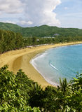 kamala phuket Таиланд пляжа Стоковое Изображение RF