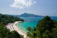 Kamala Viewpoint. Kamala Beach Viewpoint at Phuket,Thailand Royalty Free Stock Photos
