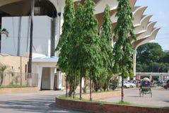 Kamalapur火车站达卡孟加拉国 库存图片