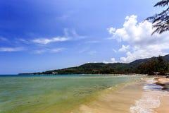 Kamali plaża, Phuket, Tajlandia Fotografia Royalty Free