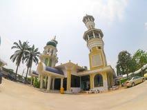 Kamalulislam moské på muslimsk gemenskap i förort av Minburi Arkivbild