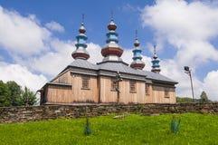 Kamancza, Польша, июнь 2018 Греческий католический приход защиты матери бога стоковое изображение rf