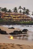 Kamaole plaża, Maui, Hawaje Obraz Royalty Free