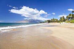 Kamaolestrand, Maui, Hawaï stock afbeelding