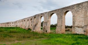Kamares Aqueduct, larnaca Cyprus Stock Image