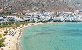 Kamares beach at Sifnos island, Greece Royalty Free Stock Image