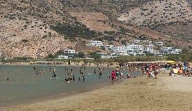 Kamares beach at Sifnos island, Greece Stock Photography