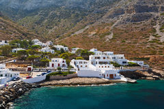 Kamares, Sifnos. Royalty Free Stock Photos