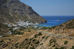 Kamares in Sifnos Royalty Free Stock Image