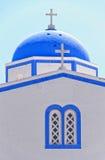 kamari 04 εκκλησιών Στοκ φωτογραφία με δικαίωμα ελεύθερης χρήσης