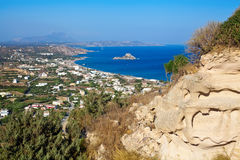Kamari Bay On Kos Island Royalty Free Stock Images