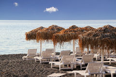 Free Kamari Beach,Santorini Stock Photo - 52706940
