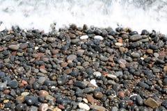 Kamari Beach Santorini Royalty Free Stock Image