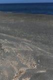 Kamari Beach Santorini Stock Photo
