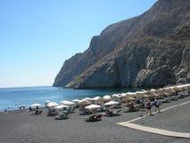 Kamari Santorini Стоковая Фотография RF