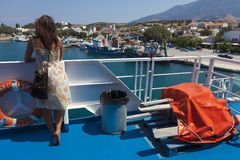 Kamariotissa - Samothace - Grekland Royaltyfri Foto