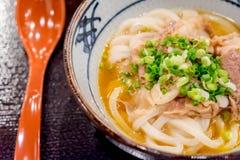 Kamatama-Udon Stock Foto's