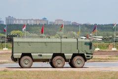 KAMAZ台风装甲的卡车 免版税库存照片