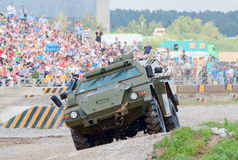 KAMAZ-43269 Vystrel armored car Stock Images