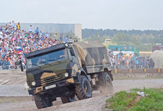KAMAZ-43501 airborne forces truck Royalty Free Stock Photography