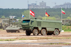 KAMAZ-63968 Typhoon armored truck Stock Photography