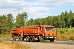 KAMAZ Royalty Free Stock Photo
