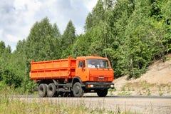KAMAZ 55102 Stock Photo