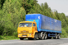 KAMAZ 65116 Royalty Free Stock Image