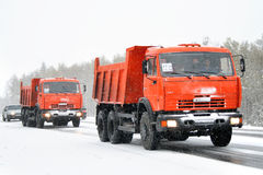 KAMAZ 65115 Royalty Free Stock Image