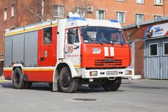 Kamaz 43253. Modern Russian fire engine Stock Images