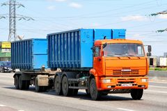 KAMAZ 6520 Royalty Free Stock Photography