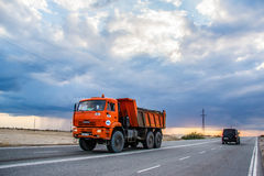 KAMAZ 6522 Royalty Free Stock Photos