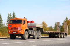 KAMAZ 65221 Royalty Free Stock Photos