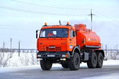 KAMAZ 43114 Royalty Free Stock Photo