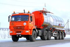 KAMAZ 44108 Royalty Free Stock Images