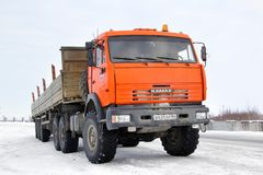 KAMAZ 44108 Royalty Free Stock Photo