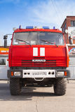 Kamaz 43114. Russian fire engine, front view Stock Photo