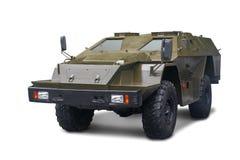KamAZ - 43269 Shot BPM-97 - Russian lightly armored car. Isolated on white background stock image