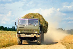KAMAZ 4310 Royalty Free Stock Photo