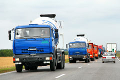 KAMAZ Royalty Free Stock Photography