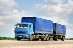 KAMAZ 65117 Royalty Free Stock Image