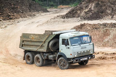 KamAZ 55111 Royalty Free Stock Photos