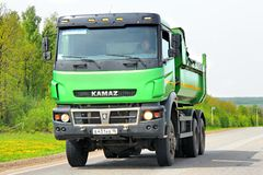 KAMAZ Royalty Free Stock Photos