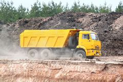 KAMAZ 6520 Royalty Free Stock Photo